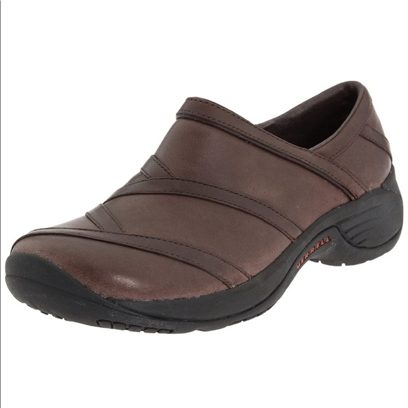 MERRELL Encore eclipse Bug Brown Leather Slip On